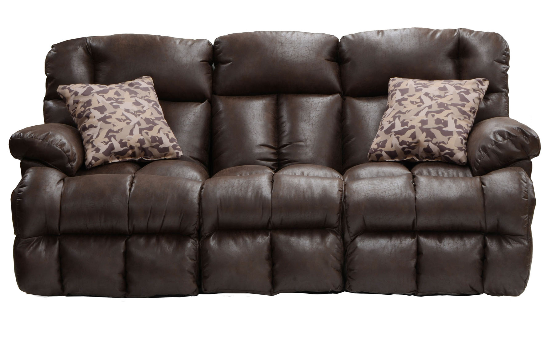Duck Dynasty 2pc Trapper Reclining Sofa And Loveseat In Realtree Xtra 130 By Catnapper Sofas
