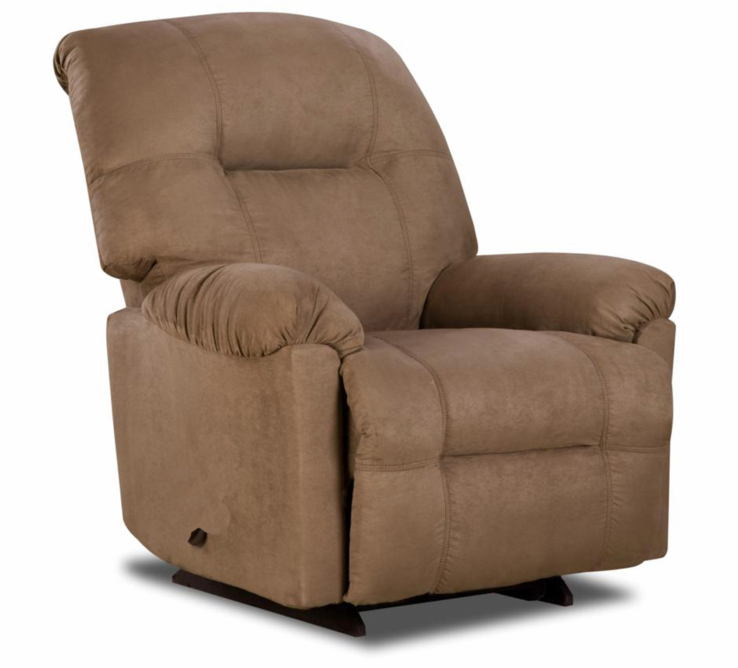 Chelsea Home Power Wyoming Leather Recliner Calcutta
